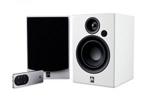 Aperion Audio Allaire Powered Bluetooth Computer Desktop Speakers